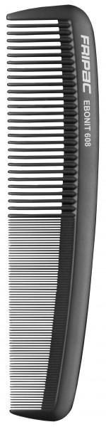 Fripac Matte Black 608 Damenkamm mittelgroß, 20 cm