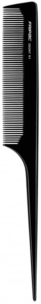 Fripac Ebonit-Stielkamm 101 fein, 20 cm