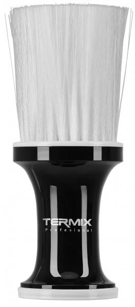 Termix Talcum Nackenpinsel schwarz, weiße Fasern
