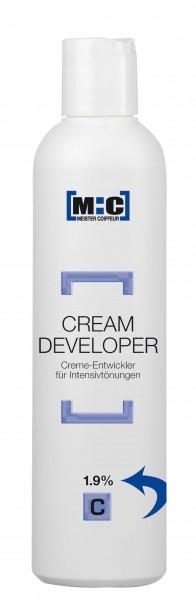 M:C Creme Entwickler 1,9% 250ml