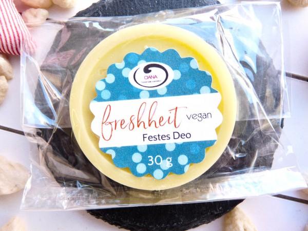 OANA Handmade Festes Deo freshheit, 30 g, vegan