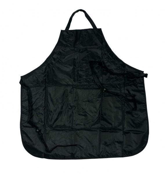 Comair Färbeschürze Protection schwarz verstellbar, 2 Taschen 68x74,5cm