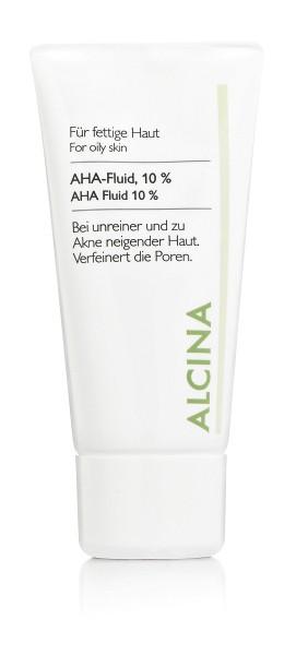 Alcina AHA-Fluid für fettige bis Mischhaut