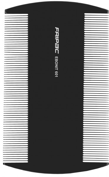 Fripac Ebonit-Staubkamm 601, feine Zahnung, 9 cm