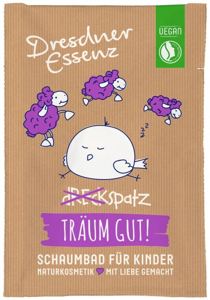 Dreckspatz Schaumbad TRÄUM GUT - 40 ml