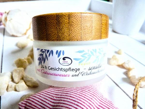 OANA Handmade 24 h Gesichtspflege sensitiv, 50 ml, vegan