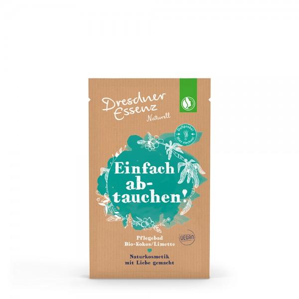 """Dresdner Essenz Pflegebad """"Bio-Kokos/Limette"""" (Einfach abtauchen!)"""