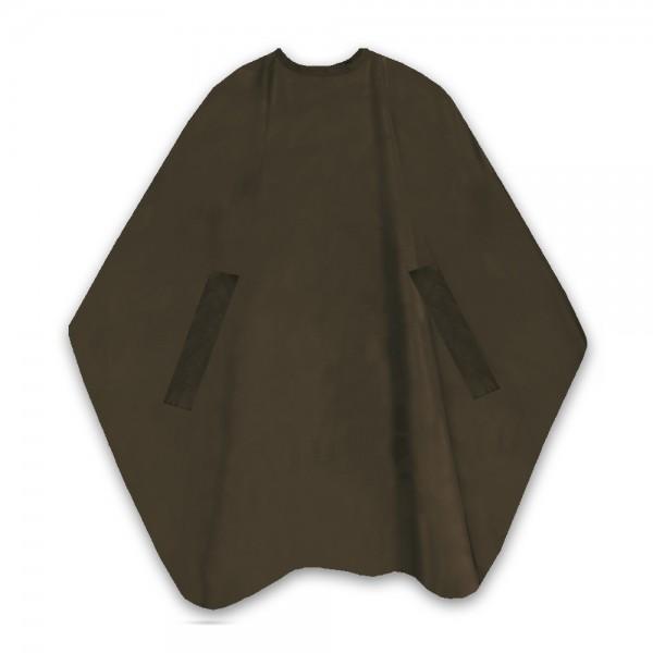 T.D. Nano Air uni braun Schneideumhang 135x150 cm 100% Polyester