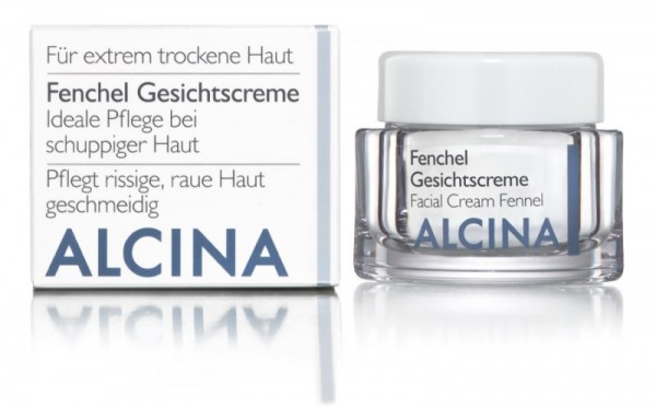 ALCINA T FENCHEL GESICHTSCREME - Ideale Pflege bei schuppiger Haut 50 ml