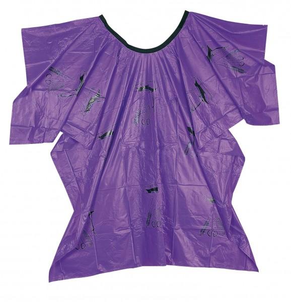 Comair Umhang Plastik Werkzeugmotiv Klettverschluss violett