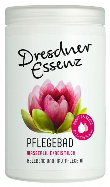 Dresdner Essenz Pflegebad Wasserlilie Reismilch 420 g