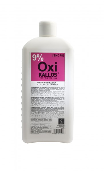 Kallos Cosmetics Kjmn Hydrogen-Peroxid Emulsion 9% 1000 ml