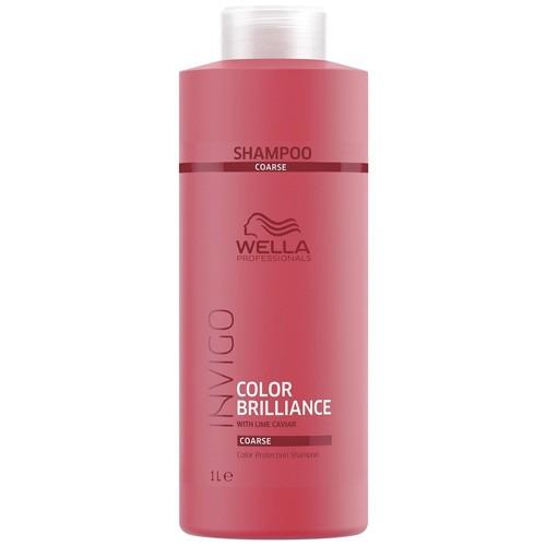 Wella Invigo Color Brilliance Protection Shampoo Coarse 1000ml