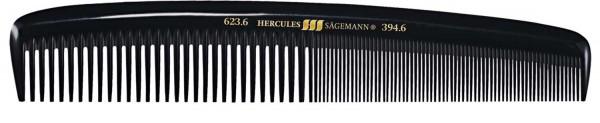 """HERCULES 623-394 6"""" Herrenkamm fester runder Rücken"""