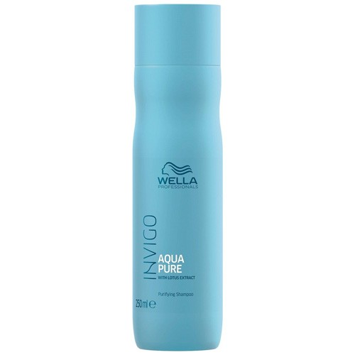 Wella Invigo Purifying Shampoo 250ml Balance Aqua Pure