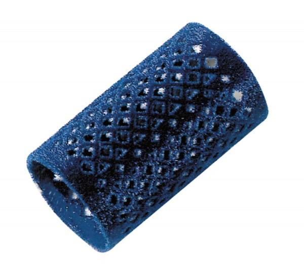 Comair Metallwickler lang 12er 36mm blau beflockt 65mm