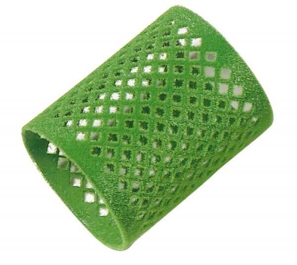 Comair Metallwickler lang 12er 50mm grün beflockt 65mm