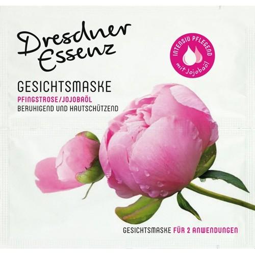 "Dresdner Essenz Gesichtsmaske ""Pfingsrose/Jojobaöl"" floral"