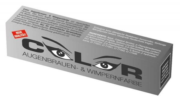 Comair Color Augenbrauen- & Wimpernfarbe tiefschwarz 15 ml