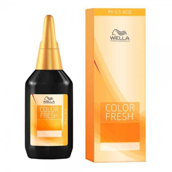Wella olor Fresh ph 6.5 Acid 6/45 dunkelblond rot-mahagoni 75ml C