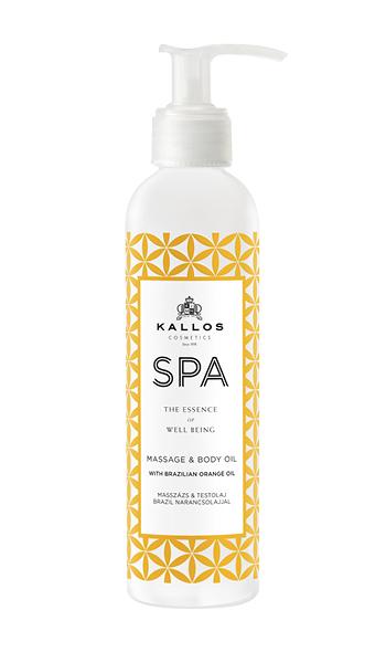Kallos Spa Kallos Spa Massage & Körperöl mit Brasil-Orangenöl 20