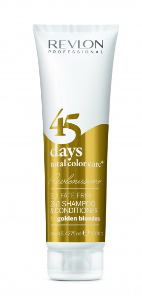 Revlon Revlonissimo 45 days total color care golden blondes 275