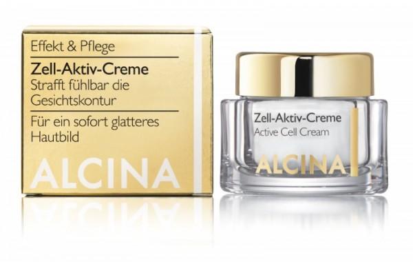 ALCINA E ZELL-AKTIV-CREME - Strafft fühlbar die Gesichtskontur 50 ml