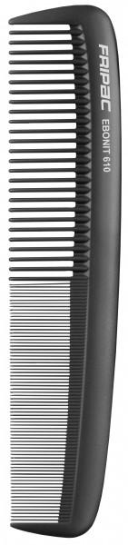 Fripac Matte Black 610 Damenkamm extragroß, 23 cm