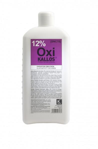 Kallos Cosmetics Kjmn Hydrogen-Peroxid Emulsion 12% 1000 ml