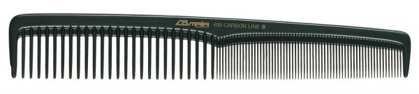 Comair Carbon Profi Line Haarschneidekamm, breit, 400
