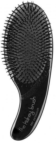 Olivia Garden Kidney Brush Dry Detangler schwarz