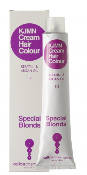 Kallos Cosmetics Kjmn Cream Hair Color 90.01 Silberblond 100 ml