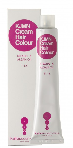 Kallos Cosmetics Kjmn Cream Hair Color 5.00 hellbraun plus 100
