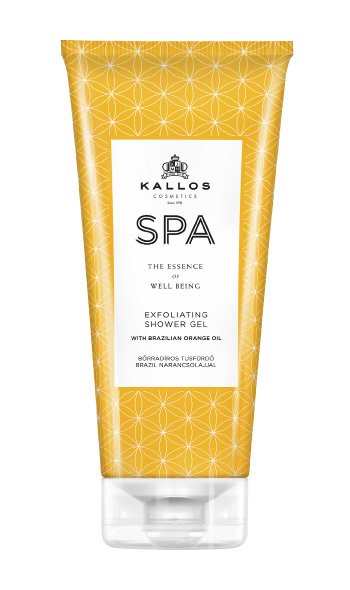 Kallos Spa Peeling Dusche mit Brasil-Orangenöl 200 ml