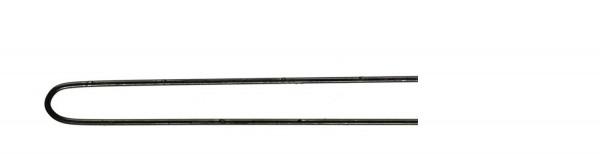 Comair Postichenadeln 500St. glatt 65x0,8mm schwarz