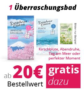 ab 20€ gratis dazu