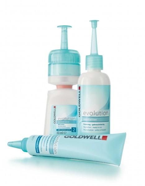 Goldwell Evolution Dauerwellset 2s für blondiertes Haar oder Str