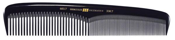"""HERCULES 603-330 7"""" Damenkamm handlich, stabil, leicht"""