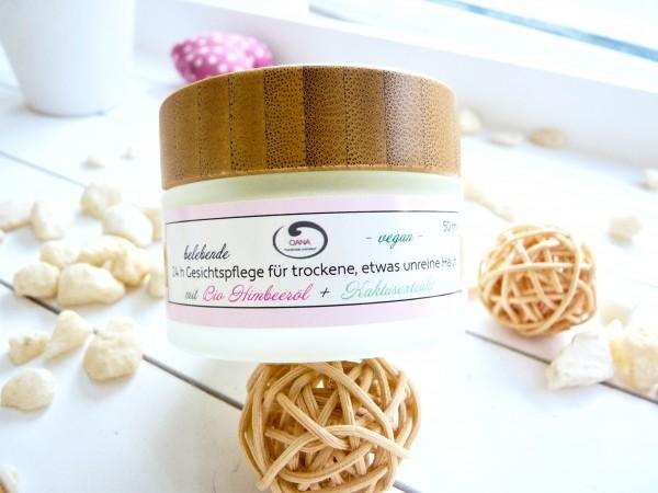 OANA Handmade 24 h Gesichtspflege für trockene, etwas unreine Haut, 50 ml, vegan