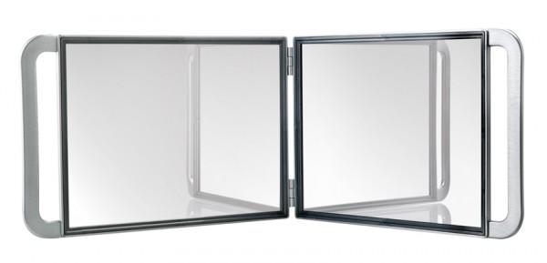 Comair Spiegel doppelt Multigrip Kabinett 21x29cm rutschfest