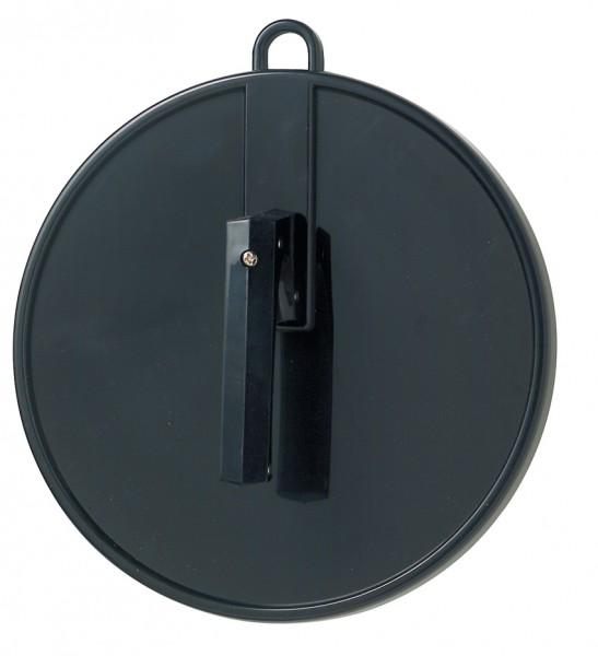 Comair Kabinett-Spiegel rund 25cm m. Griff+Öse schwarz