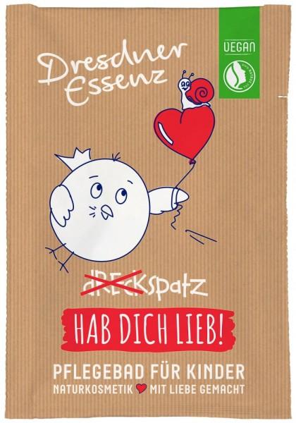 "Dresdner Essenz Pflegebad ""Hab dich lieb!"" Himbeerduft"