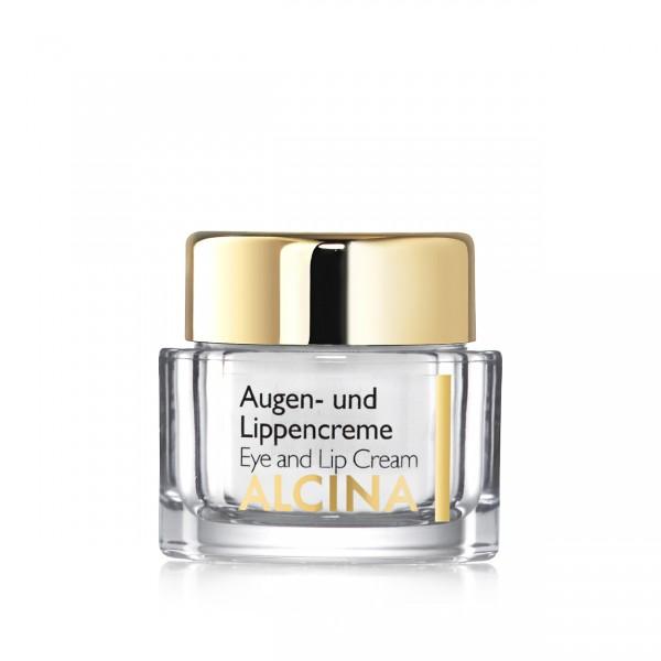 ALCINA E AUGEN- UND LIPPENCREME - Versorgt sehr trockene Haut 15 ml