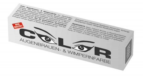 Comair Color Augenbrauen- & Wimpernfarbe graphit 15 ml