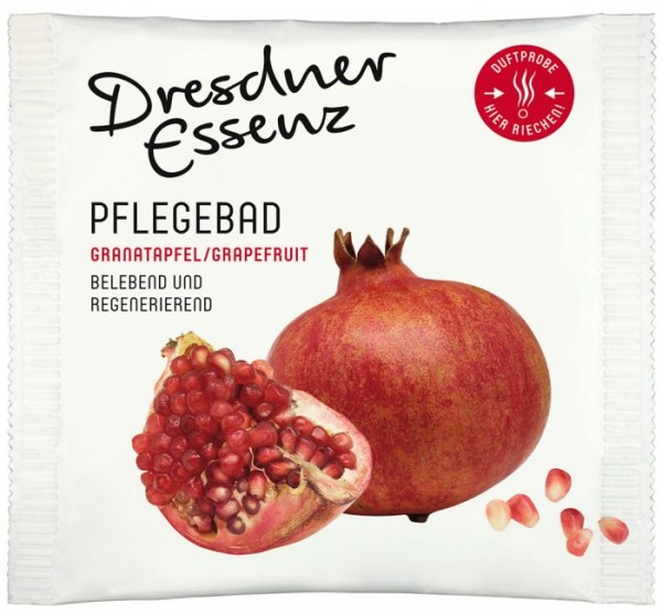 Dresdner Essenz Pflegebad Granatapfel/Grapefruit 60g