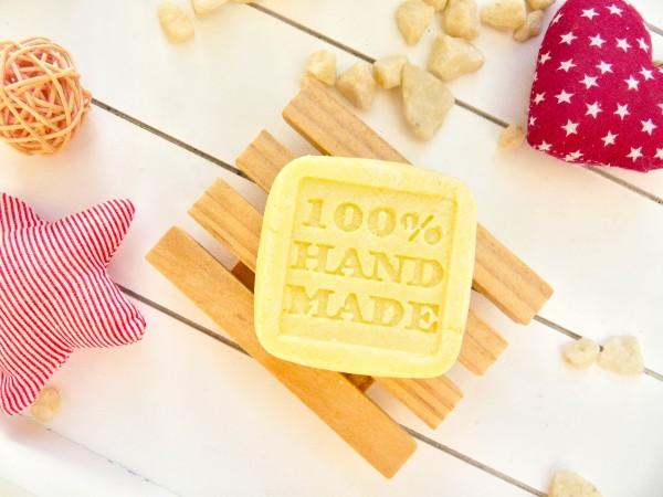 OANA Handmade festes Shampoo Sports 50 g, vegan, verpackt in Zellglastüte