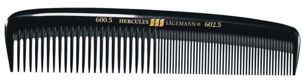 "HERCULES 600-602 5"" Herrentaschenkamm flexibler Rücken, leichtes Modell"