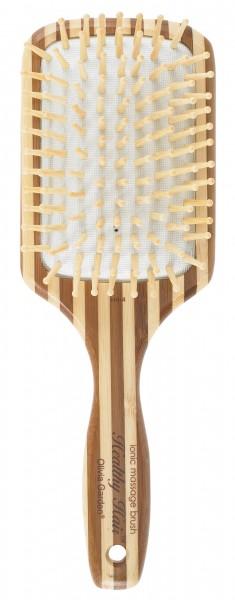 O. Garden Healthy Hair Bambus Paddle 9-reihig HH-4 Massageb.