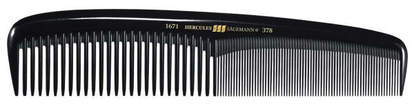 "HERCULES 1671-378 7 1/2"" Damenkamm mittelstarkes Modell"