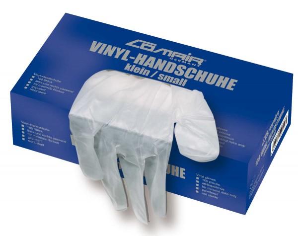 Comair Vinyl Handschuhe klein puderfrei 100er Box